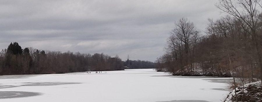 reservoir ice