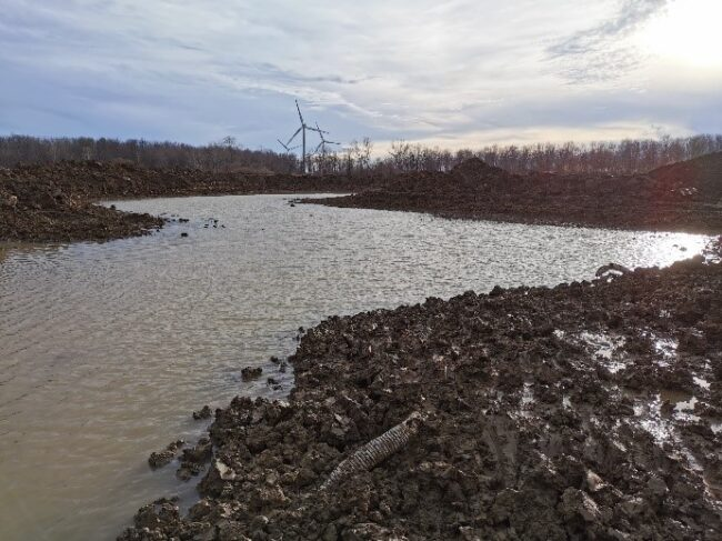 Breaking Ground – 16 acres of Land Restoration is underway