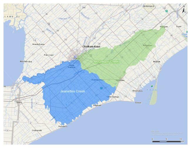 McGregor and Jeannettes Creek Phosphorus Reduction Program – 2021 Continuation